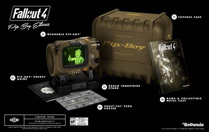 Fallout 4 Pip-Boy Edition + Limited Edition Guide and more.