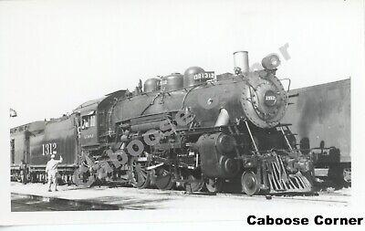 AT&SF Atchison Topeka & Santa Fe Railway #1312 NM 1949 B&W Photo (2053)