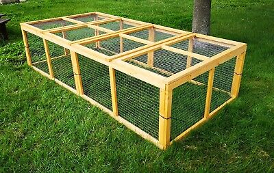 10 x Aviary Panel - 4 ft x 2 ft - Chicken,Birds, Rabbit, Guinea Pig, Dog, Cat .. for sale  Southampton