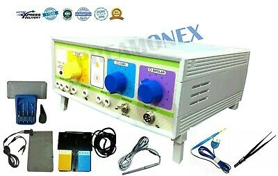 Electro Surgical Generator Cautery 300 Watt Bipolar Coagulation Dermatology 2p