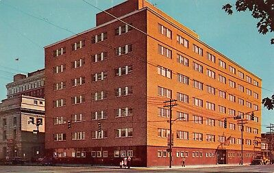For sale Huntington West Virginia c1960 Postcard Federal Office Building General Services