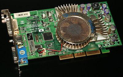 LeadTek WinFast A310, NVIDIA GeForce FX 5600, 128MB, DDR1, AGP, DVI, VGA, TV-OUT