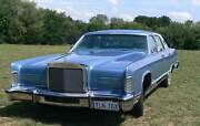 Lincoln Continental Town Car 1978 Mawson Woden Valley Preview