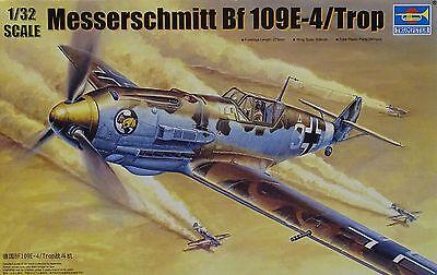 TRUMPETER® 02290 Messerschmitt Bf109E-4/TROP in 1:32