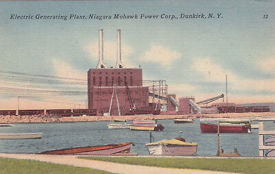DUNKIRK, New York, 30-40s; Electric Generating Plant, Niagara Mohawk Power Corp.