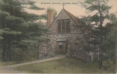 "Sharon, MA. Episcopal Church. ""Used"""