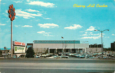 Postcard Cherry Hill Center Mall in New Jersey Haddonfield Road Camden County,