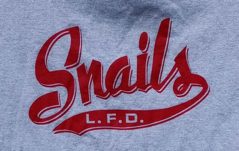 Lindenhurst Snails Fire Dept Suffolk Long Island NY XL T Shirt Drill Team FDNY
