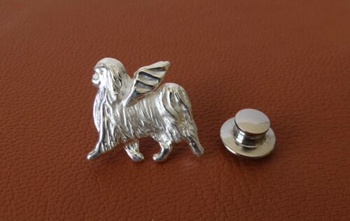 Sterling Silver Japanese Chin Angel Pendant Lapel Pin