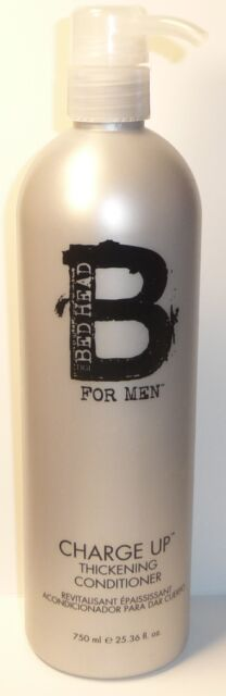 tigi bed head  for men  Charge Up Thickening Conditioner 750ml