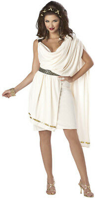 Sorority Deluxe Classic College Toga Party Woman Adult  Sexy Costume - College Costumes