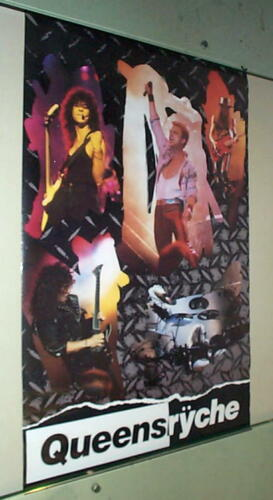 QUEENSRYCHE Live 1989 Vintage Poster