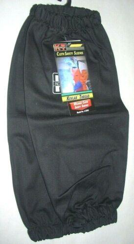 KT Industries 4-5205 Black Welding Safety Sleeves Flame Retardant Elastic Band