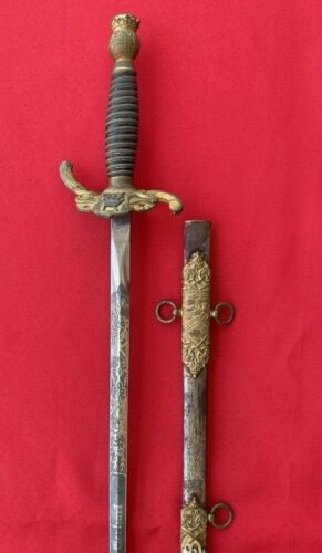 Antique Knights of Pythias Fraternal Ceremonial Sword By Horstmann Bros & Co PA