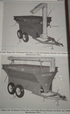 John Deere 210 310 Auger Wagon Parts Catalog Manual Original Jd 1177