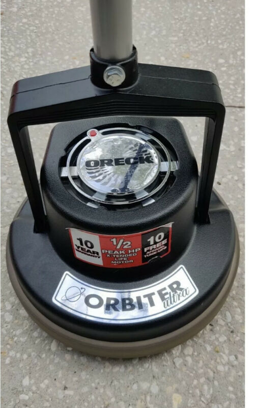 ORECK XL ORBITER ULTRA 1/2HP FLOOR BUFFER/POLISHER/SCRUBBER model # ORB700MB