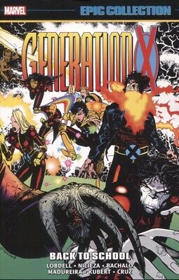 GENERATION X EPIC COLLECTION TPB BACK TO SCHOOL/ NEW UNUSED