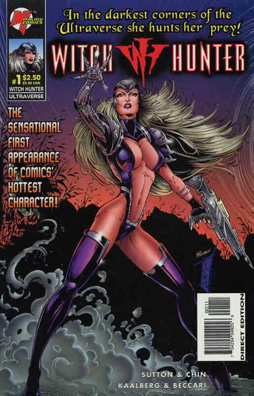 Witch Hunter #1 VF/NM; Malibu | save on shipping - details inside