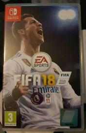 FIFA 18 2018 Nintendo Switch game