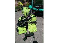 Oyster max tandem / double pram,