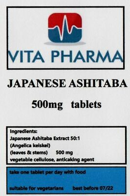 JAPANESE ASHITABA 500mg 30 tabs liver & kidney function, powerful detoxifier