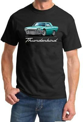 1965 Ford Thunderbird Hardtop Full Color Tshirt NEW FREE SHIPPING ()