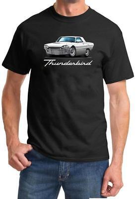 1964 Ford Thunderbird Convertible Full Color Tshirt NEW FREE SHIPPING - Ford Thunderbird Color