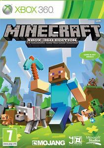 Minecraft Game Microsoft Xbox 360 | eBay