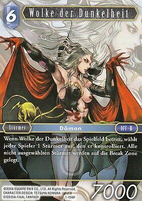 Wolke der Dunkelheit (1-158H)  Final Fantasy TCG Opus I  Deutsch  NEU TopMint