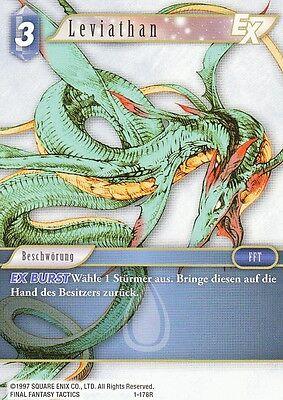 Leviathan (1-178R)  Final Fantasy TCG Opus I  Deutsch  NEU TopMint