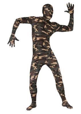 Adult Camo Stretchy Second Skin Costume - Second Skins Costumes