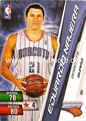 NBA ADRENALYN XL 2011 EDUARDO NAJERA 264 CHARLOTTE