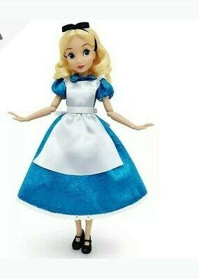 Disney Store Alicia en el país de las Maravillas Muñeca Clásica.Nueva