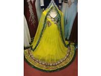 Indian Pakistani Festival Wedding Dress party prom dress Anarkali