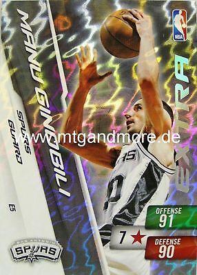 Panini NBA Adrenalyn XL 2011 - Manu Ginobili - Extra Manu Ginobili Nba