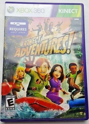 Kinect Adventures (Microsoft Xbox 360, 2010) Video Game [Kinect Required] (Video Kinect)