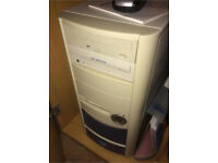 Computer tower excellent condition £45
