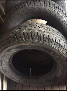 Tires 265/70R17