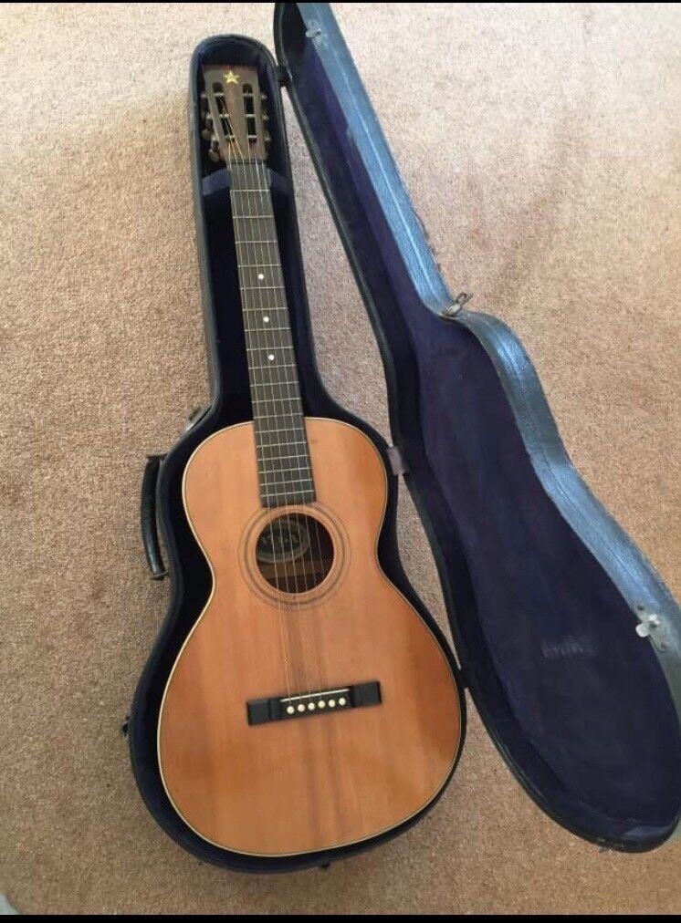 1918 Vega acoustic guitar (similar Gibson Martin) ***vintage parlour guitar    in Ashington, Northumberland   Gumtree