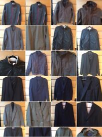 Big actual brands like Hugo Boss and many other vintage brands