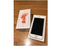 iPhone 6S Unlocked 64GB Rose Gold Very Good Condition