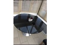 Large round glass table only