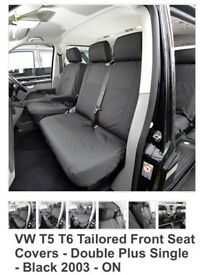 VW Transporter T5 T6 Seat Covers