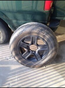 Tires On Rims take all for 140$!!!