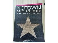 Motown Anthology Songbook. Guitar / vocal / piano book. Learn songs