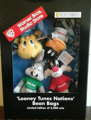 Warner Bros, Looney Tunes Nations Bean Bags,1996.