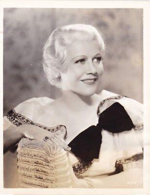 GLADYS GEORGE Beautiful Original Vintage 1937 First MGM Studio Portrait Photo