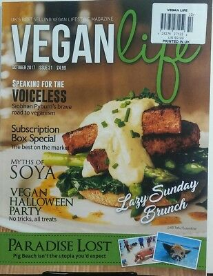 Vegan Life UK October 2017 Lazy Sunday Brunch Halloween Party FREE SHIPPING - Uk Holidays Halloween