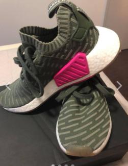 Womens Adidas NMD_R2PK W (US 7)