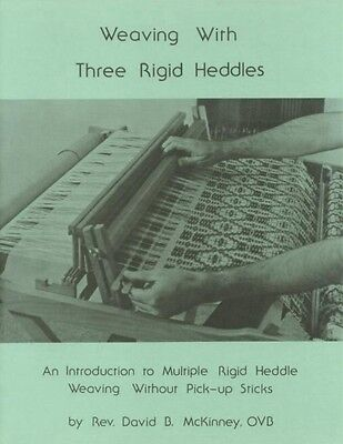 Book 'Weaving With Three Rigid Heddles', Heddle Loom Weavers Instruction Booklet